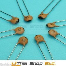 10 x 2200pF 2.2nF 0.0022uF 50V 5mm Ceramic Disc Capacitor - Free Shipping