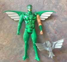 Flashback Silverhawks Silver Hawks Kenner Figure Complete W/ Backlash Bird 1986