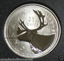 1998 Canada Quarter Dollar Specimen Proof 25 Cent - KEY DATE - MINT UNCIRCULATED