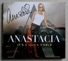 ANASTACIA * IT'S A MAN'S WORLD * EXCLUSIVE SIGNED 10 TRK CD * BN&M * PLEDGEMUSIC