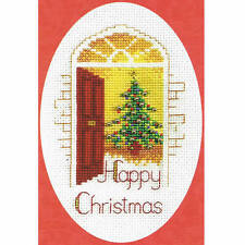 Derwentwater Designs Christmas Cross Stitch Card Kit - Warm Welcome