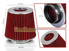 "3.5"" Cold Air Intake Filter Universal RED For Mazda 323/618/626/808/929/Cosmo"