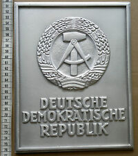East German Border Sign Marker DDR Plaque NVA Berlin Wall Cold War  - repro -