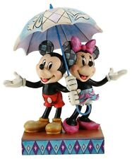 DISNEY MICKEY & MINNIE MOUSE FIGURINE Statue BRAND NEW