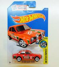 Hotwheels '70 Ford Escort RS1600 ( Castrol 12 ) - Hot Pick