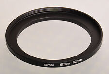 52mm-62mm Filter Adaptor Ring Converts 52mm lens thread to 62mm 52-62 Step-Up