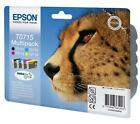 Epson T0715 TO715 0715 Original Genuine Epson Printer Combo Pack Ink Cartridges