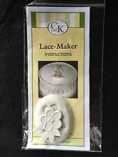 Cake Decorating CK Silicone Lace/Flower Mold NEW