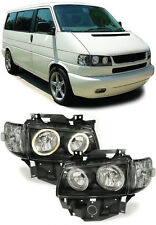Angel EYES FANALI + FRECCE NERO PER VW BUS t4 CARAVELLE MULTIVAN dal 96