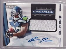 2012 R&S Rookie Materials Robert Turbin Auto Jersey Rc Serial # To 499