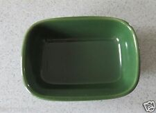 WORKSHOPS OF GERALD E. HENN POTTERY EMERALD GREEN JEWELWARE RELISH TREAT DISH