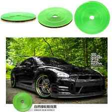 Car SUV Wheel Hub Rim Protector Tire Rubber Strip Decoration Moulding Line Green