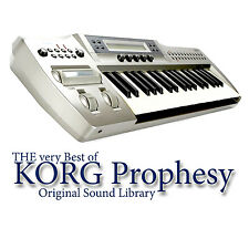 KORG PROPHESY - Sound Library Original Samples in WAVEs format on CD