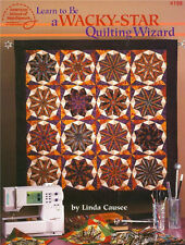 Learn to Be A WACKY STAR QUILTING WIZARD Pattern Book