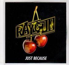 (EC153) Raygun, Just Because - DJ CD