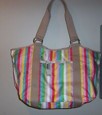 NWT LeSportsac CARRYALL TOTE BAG *LUCKY STRIPE* FREE SHIPPING!!