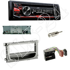 JVC KD-R471 CD/USB Radio + FORD C-MAX Focus CC DA3 Blende+Fach + Adapter+Antenne