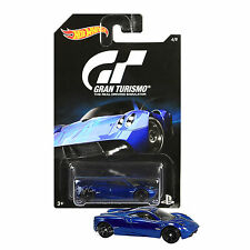 NEW 2015 Hot Wheels 1:64 Die Cast Car PS Gran Turismo Blue Pagani Huayra 4/8