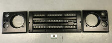 LAND ROVER DEFENDER KBX FRONT GRILLE & SURROUND KIT - SATIN BLACK KBX3111