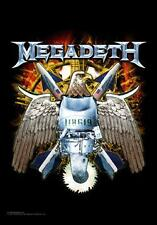 MEGADETH Heavy Metal Band EAGLE Music Fabric POSTER WALL BANNER FLAG 30 x 40 New