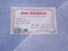 White Cotton Gauze (x 1.85 metres)