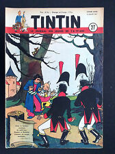 Fascicule périodique Journal Tintin N° 27 1951 BE   couv Laudy