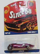 HOT WHEELS  SINCE 68 TOP 40 TWIN MILL RED