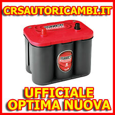 BATTERIA AUTO CHRYSLER CHEROKEE BATTERIA OPTIMA RTC4.2 50AH REDTOP RED TOP