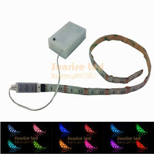 Exhibition Display Model Railway Super Bright Battery Operated LED Strip RGB