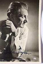 14472  Foto Autogramm AK CHRISTIAN KAYSSLER 1935 autograph authentic signature