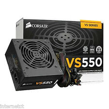CORSAIR VS550 550W 80+ 42 AMP PCI-E 8-PIN SATA POWER SUPPLY UNIT