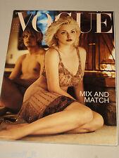 VOGUE MAGAZINE ITALIA=2000 APRIL=Sophie Dahl Damien Van Zyl by Steven Meisel=
