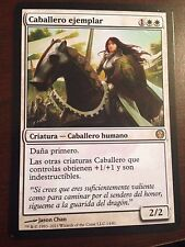 Magic the Gathering KNIGHT EXEMPLAR Duel Deck Knights vs. Dragons SPANISH