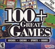 100+ Great Games (Jewel Case) - PC ~ Windows Me, Windows 98, Pc Video Game