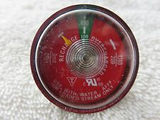 1-100# PRESSURE GAUGE for PORTABLE 2 1/2 GALLON WATER PRESSURE FIRE EXTINGUISHER