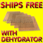 Non-Stick Teflon Dehydrator Sheet Drying 14x14 for Excalibur 2500 2900 3500 3900
