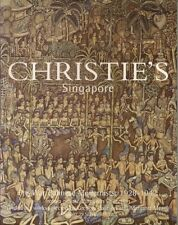 CHRISTIE'S Balinese Modernists Paintings Art Auction Catalog 2001