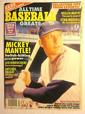 All Time BASEBALL GREATS Magazine #2 (July 1990/NMint/9.6 or Better Condition)