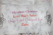 Aromatherapeutic Love Bath Salts Over 4oz , Magic Love Spells & Rituals Witch