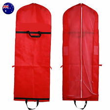 Bridal Wedding 175cm Long Dress suit Gown Garment Storage Bag Cover Protector