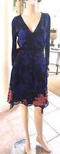 DVF Diane von Furstenberg 'Riviera' Floral Print  Silk Wrap Dress 6, $478