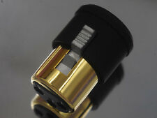 1 Male + 1 Female XLR Noise Stopper Cap Self Lock Caps EN001B USA Design