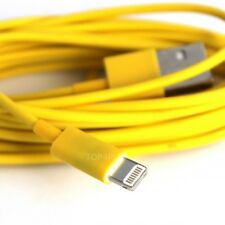 CHARGEUR IPHONE 6 - 5 5S 5C CABLE USB JAUNE DATA SYNCHRO LIGHTNING IPAD MINI AIR