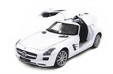 Welly 1:24 Mercedes Benz SLS AMG Diecast Model Car New White