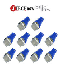 10 x T5, 5050 SMD LED Blue Super Bright Car Lights Lamp Bulb