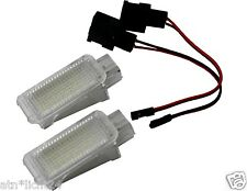 2x LED fußraumbeleuchtung interior lámpara blanco xenon 6000k Can-Bus audi & VW