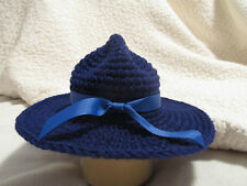 Crochet State Trooper/Patrolman/Ranger Hat - Baby Photo Prop - Made to Order