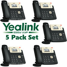 5 Yealink SIP-T21P-E2 Entry Level 2 Line IP Phone w/ HD Voice PoE 10/100 T21P E2