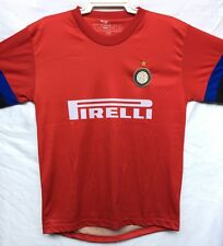 Inter Milan Junior Soccer Jersey Red Top 10-14 Years Old