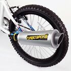 Turbospoke The Bicycle Toy Exhaust System Turn Your Bike Into A Motorcycle 21865